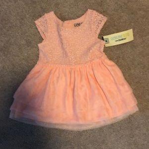 NWT Pink baby dress